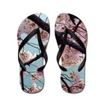 Cherry Blossom Trailer Park Flip Flops