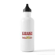 Karaoke Love Water Bottle