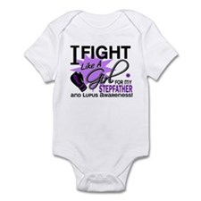 Fight Like A Girl For My Lupus Infant Bodysuit