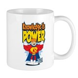 Knowledge Is Power Small Mugs