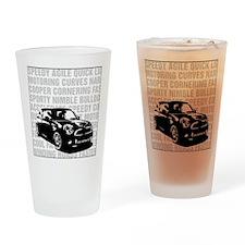 R56 Mini Words Descriptive Drinking Glass
