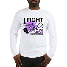 Fight Like A Girl For My Lupus Long Sleeve T-Shirt