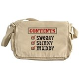 Funny Sports Messenger Bag