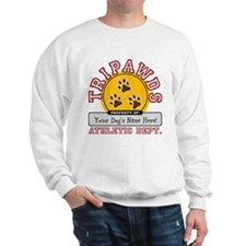 Tripawds Athletic Dept. Sweatshirt