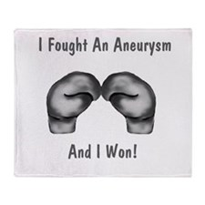 I Fought An Aneurysm And I Wo Throw Blanket