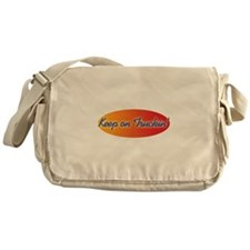 Retro Keep On Truckin Messenger Bag