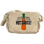 Put on Enough Hot Sauce Messenger Bag