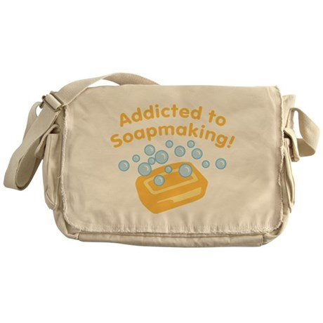 Addicted to Soap Craft Messenger Bag