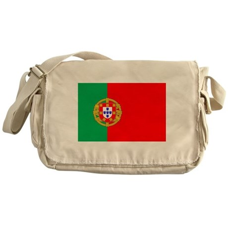 Portuguese, Flag of Portugal Messenger Bag