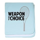 Tennis - Weapon baby blanket