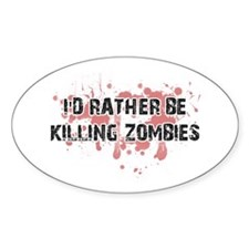 Unique Zombie day Decal