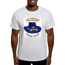 Army - 1st Cav - 1st Team T-Shirt