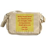 Lao Tzu Messenger Bag