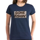 Gone Fishin' (Fishing) Tee