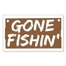 Gone Fishin' (Fishing) Decal