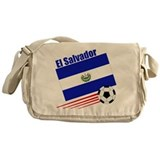 El Salvador Soccer Team Messenger Bag
