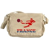 French Soccer Player Messenger Bag