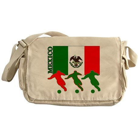 Soccer Mexico Messenger Bag