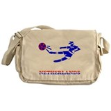 Netherlands Soccer Player Messenger Bag