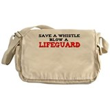 Save a Whistle Messenger Bag