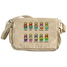 Nesting Dolls Messenger Bag