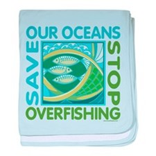 Save Our Oceans baby blanket