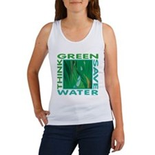 Water Conservation Women's Tank Top