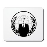 Anonymous International Mousepad