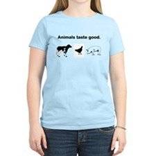 Animals Taste Good Women's T-Shirt
