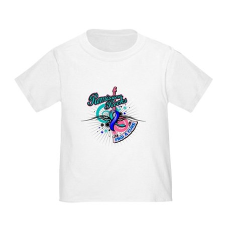Thyroid Cancer Remission ROCK Toddler T-Shirt