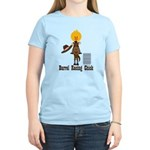 Barrel Racing Chick Women's Light T-Shirt