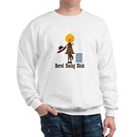 Barrel Racing Chick Sweatshirt