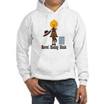 Barrel Racing Chick Hooded Sweatshirt