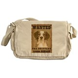 """Wanted"" Brittany Messenger Bag"