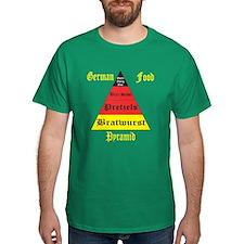 German Food Pyramid T-Shirt