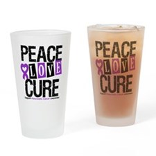 Pancreatic Cancer Cure Drinking Glass