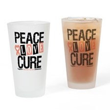 Uterine Cancer Cure Drinking Glass