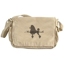 Miniature Poodle Messenger Bag