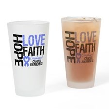 Esophageal Cancer Faith Drinking Glass