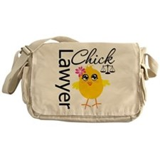 Lawyer Chick Messenger Bag