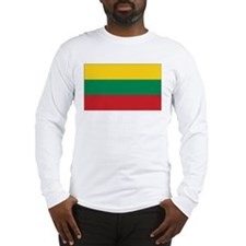 Lithuania Flag Long Sleeve T-Shirt