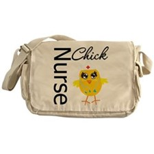 Nurse Chick Messenger Bag