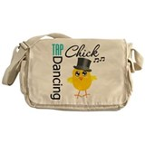 Tap Dancing Chick Messenger Bag