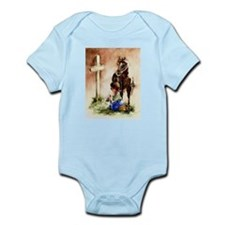 Cowboy at the Cross Infant Bodysuit