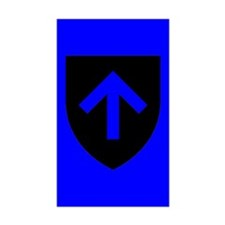 Blue Master Shield Decal