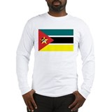 Mozambique Flag Long Sleeve T-Shirt