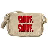 Snarf. Snarf. Messenger Bag