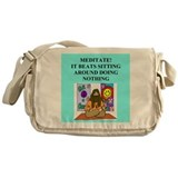 zen buddhist gifts and t0shir Messenger Bag