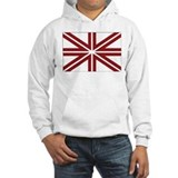 Latvia Naval Jack Hoodie