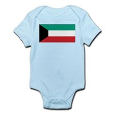 Kuwait Flag Infant Creeper